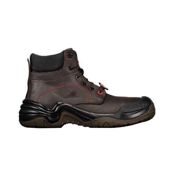 Zapato con Casco Dieléctrico Biotech Berrendo Café 3017 - 0