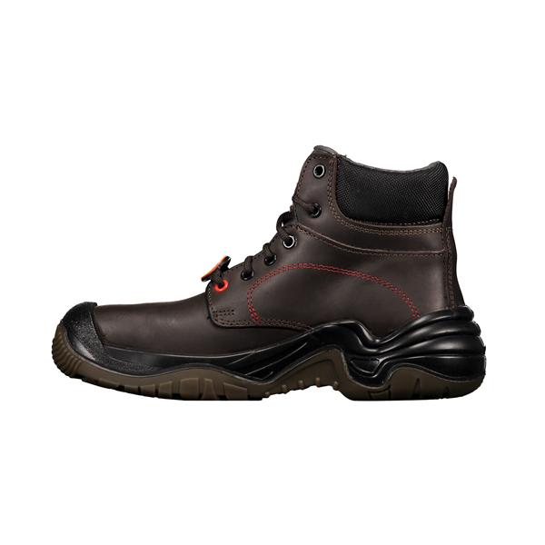 Zapato con Casco Dieléctrico Biotech Berrendo Café 3017 - 1