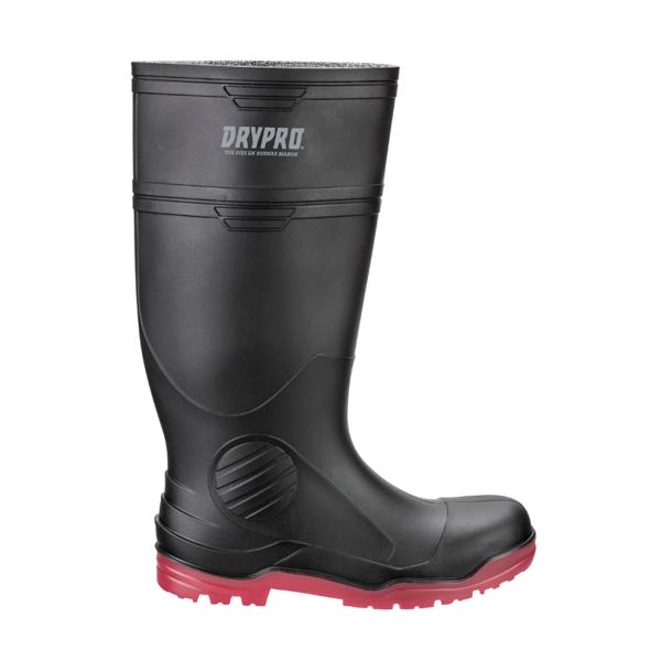 Bota Industrial sin Casco Suela Nitrilo PRO5 DryPro Negro/Rojo DPI400 - 0