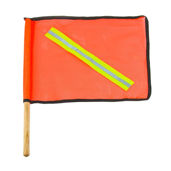 Banderola de Malla con Reflejante Mat Naranja EPF-BMN01 …