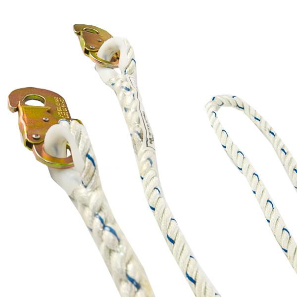 Cable de Seguridad de Poliamida con Doble Gancho UFS … USP-209 1.83 m - 2