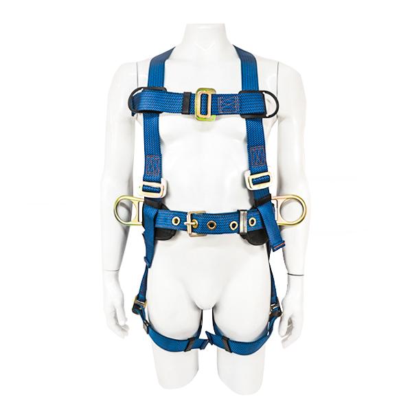 Arnés para Cuerpo Completo con 3 Anillos D y Cinturón Acojinado UFS Azul USP-125-M … - 0