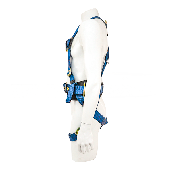Arnés para Cuerpo Completo con 3 Anillos D y Cinturón Acojinado UFS Azul USP-125-M … - 1