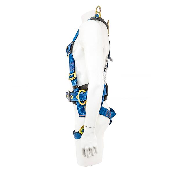 Arnés para Cuerpo Completo con 5 Anillos D y Cinturón Acojinado UFS Azul USP-127-M … - 1