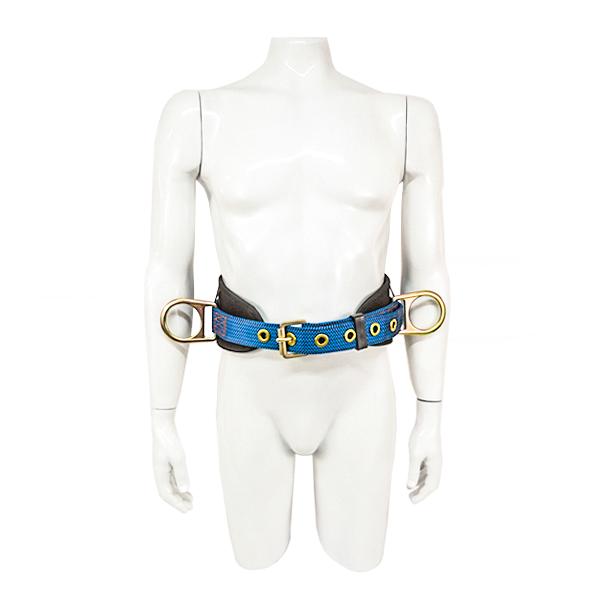 Cinturón con Respaldo de 3 Anillos UFS Azul USP-101-M MD