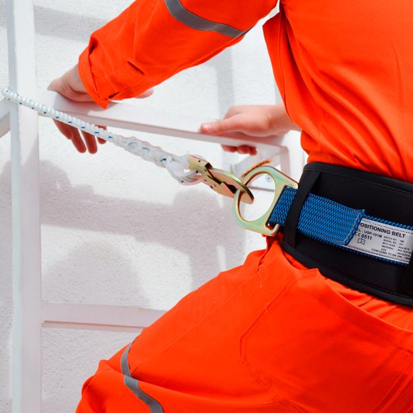 Cable de Seguridad de Poliamida con Doble Gancho UFS … USP-209 1.83 m - 3
