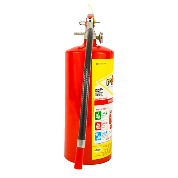 Extintor Cilindro de Lámina de PQS Fanex Rojo … 4.5 kg - 1