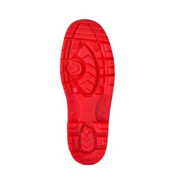 Bota Industrial sin Casco Suela Nitrilo PRO5 DryPro Negro/Rojo DPI400 - 2
