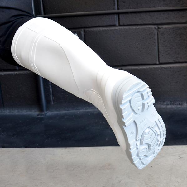 Bota Semindustrial sin Casco PRO2 DryPro Blanco/Gris DPS350 - 3