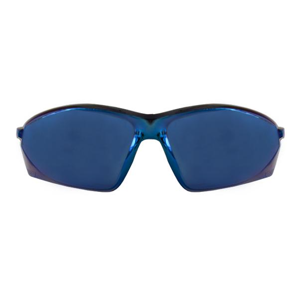 Lente Antiempañante Antirrayaduras Reflectivo con Armazón Transparente Serie A700 Uvex Honeywell Azul A703 … - 0
