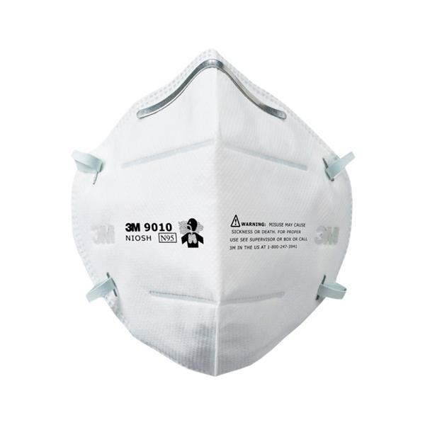 Respirador Desechable Plegable para Partículas N95 9010 3M (Pieza) Blanco MS900105117 … - 0