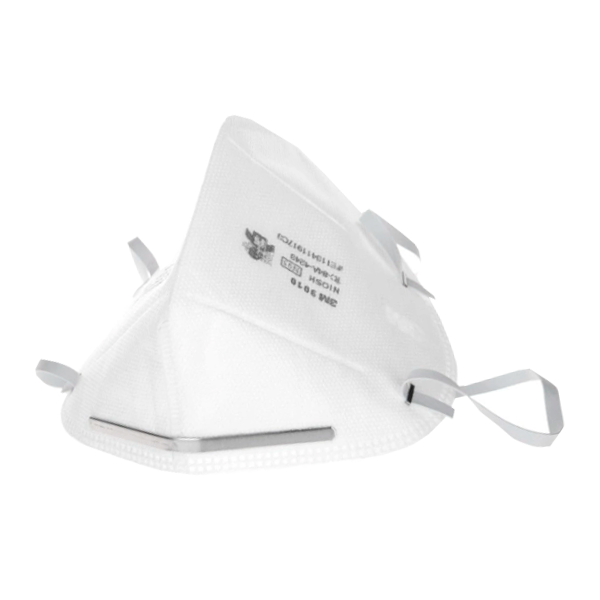 Respirador Desechable Plegable para Partículas N95 9010 3M (Pieza) Blanco MS900105117 … - 1