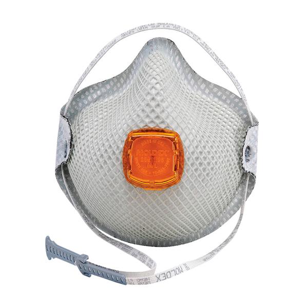 Respirador Desechable con Válvula Ventex para Vapores Orgánicos N95 Moldex (Pza.) Blanco 2800N95 …
