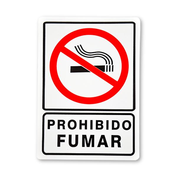 SEÑALAMIENTO 25x35 CM PROHIBIDO FUMAR