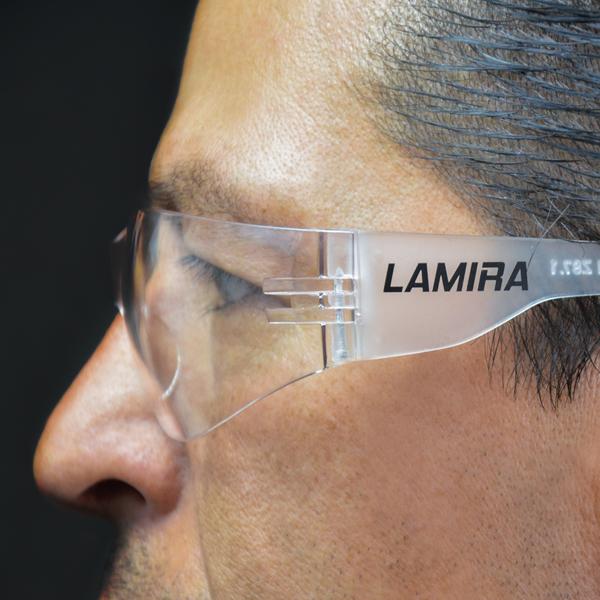 LENTE DE SEGURIDAD LAMIRA MICA CLARA 2993-CL - 3