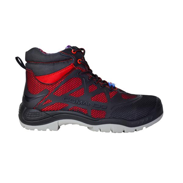 Zapato sin Casco Dieléctrico Sport+ Comando Rojo 1821 - 0