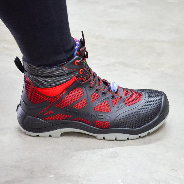 Zapato sin Casco Dieléctrico Sport+ Comando Rojo 1821 - 3