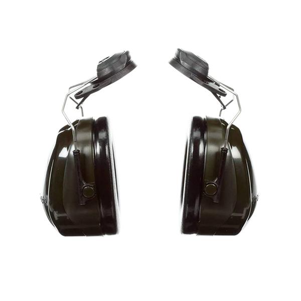 Orejera ABS Adaptable al Casco NRR 24 dB H7P3E Deluxe Optime PELTOR 3M Negro/Verde XH001651245 …