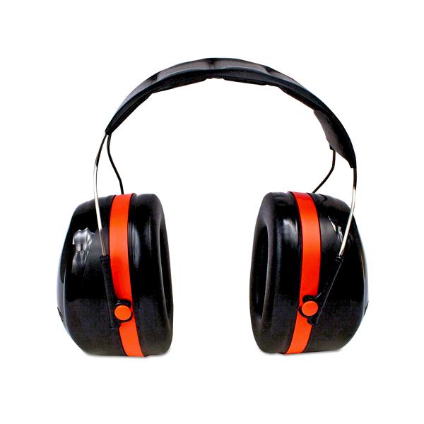 OREJERA ABS TIPO DIADEMA TWIN-CUP NRR 30 DB H10A SERIE 105 OPTIME PELTOR 3M NEGRO/ROJO XH001651187 …