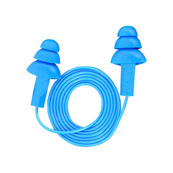 Tapón Auditivo Reutilizable con Cordón NRR 25 dB Detector de Metal Econ opack 340-4017 Audit UltraFit 3M (Par) Azul 70071515731 … - 0