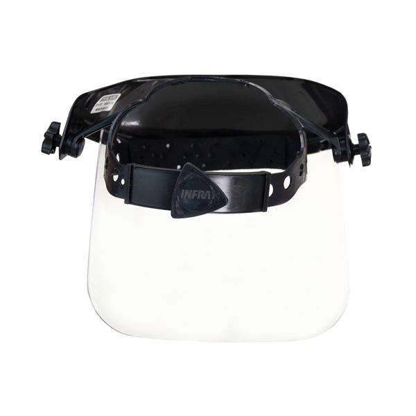 Protector Facial Mica Clara con Suspensión Matraca Infra Negro 3PF500T … - 2