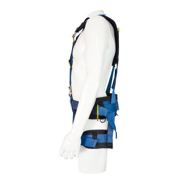 Arnés para Cuerpo Completo con 5 Anillos D y Cinturón Acojinado UFS Azul USP-160-A … - 1