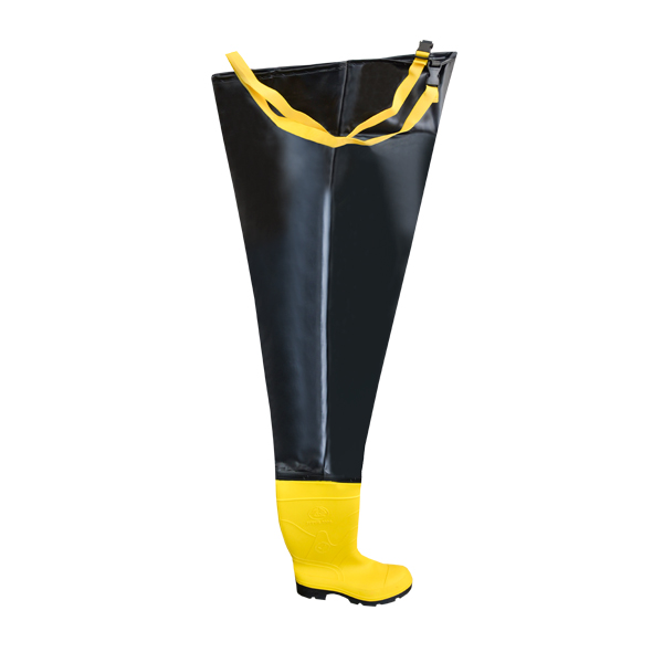 Bota Pantalonera con Casco Bata Industrials Amarillo/Negro 802-68140 - 0