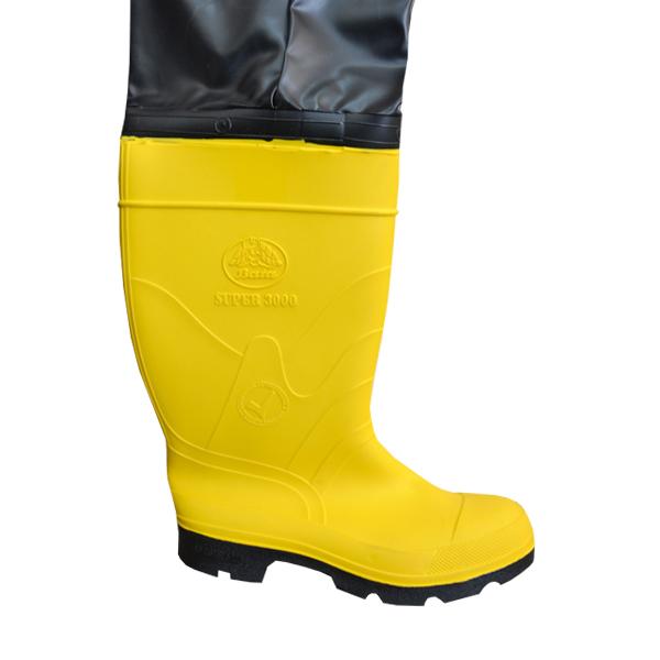 Bota Pantalonera con Casco Bata Industrials Amarillo/Negro 802-68140 - 1