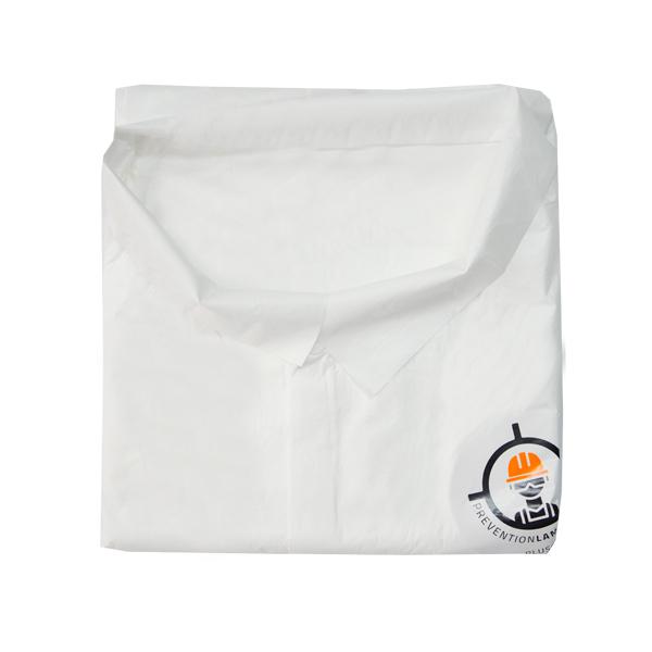 Bata Laminado Microporoso 50 g Desechable Lamira Blanco AS-3492 - 2