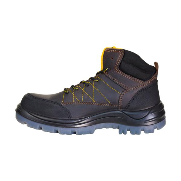 Zapato Borceguí con Casco de Composite Dieléctrico Armada Café 5016 - 1