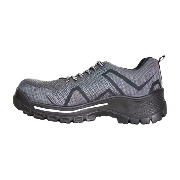 Zapato Tenis con Casco de Policarbonato Dieléctrico X-Port Armada Gris/Negro 156 - 1