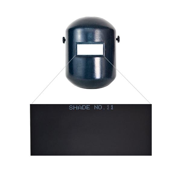 """Cristal para Careta Sombra 11 Infra Oscuro 2SC-11 2"""" x 4.25"""" - 2"""