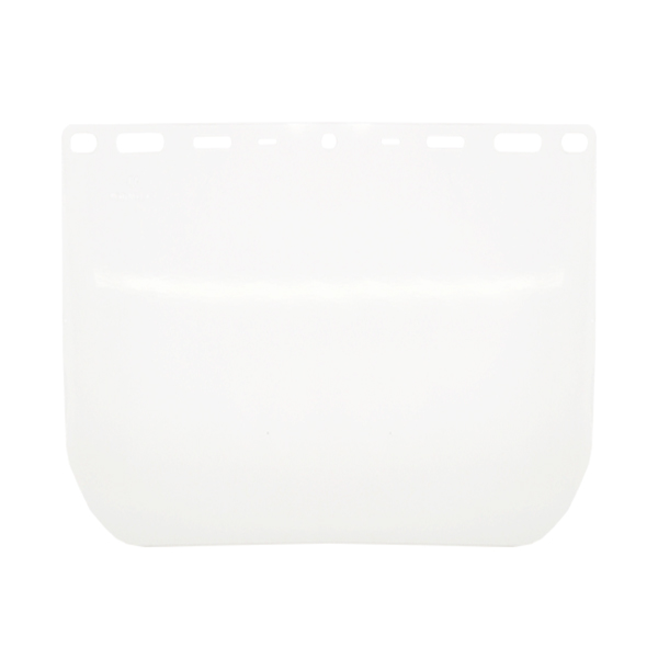 MICA FACIAL PVC PARA CABEZAL UNIVERSAL JYRSA TRANSPARENTE WW-2011C 39 X 20.5 CM