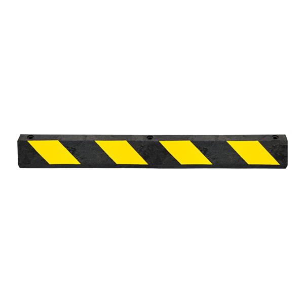 Tope HDPE 100 % Reciclado para Estacionamiento irriDren Negro/Amarillo … 182 cm - 0