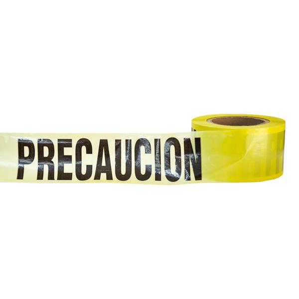 """Banda Leyenda Precaución MAT Amarillo EPV-CB01 3"""" x 300 m - 1"""