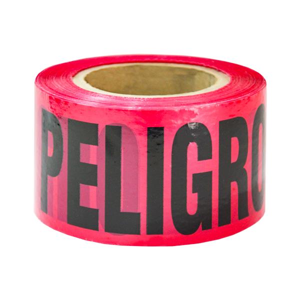 """Banda Leyenda Peligro MAT Rojo EPV-CB02 3"""" x 300 m"""