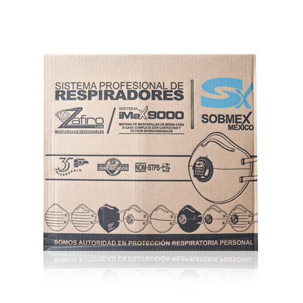 Respirador Desechable para Polvos 02 Sobmex (Pza.) Blanco S11021 … - 2