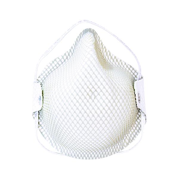 Respirador Desechable con Puente Nasal para Partículas N95 Moldex (Pieza) Blanco 2600N95 … - 0