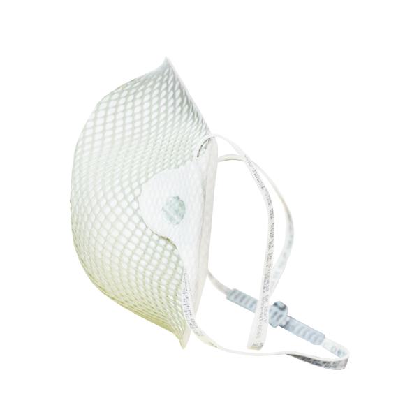 Respirador Desechable con Puente Nasal para Partículas N95 Moldex (Pieza) Blanco 2600N95 … - 1
