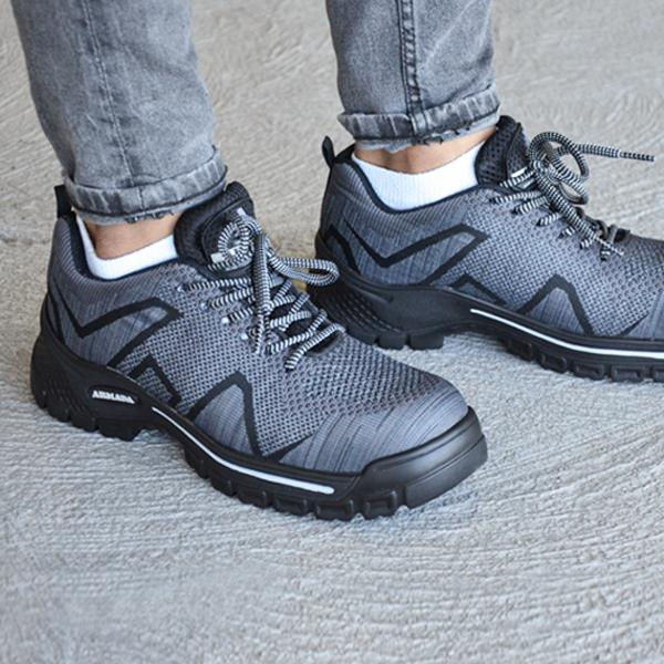 Zapato Tenis con Casco de Policarbonato Dieléctrico X-Port Armada Gris/Negro 156 - 3