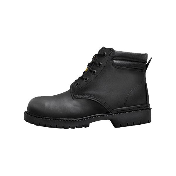 Zapato Borceguí con Casco de Acero Armada Negro 101 - 1