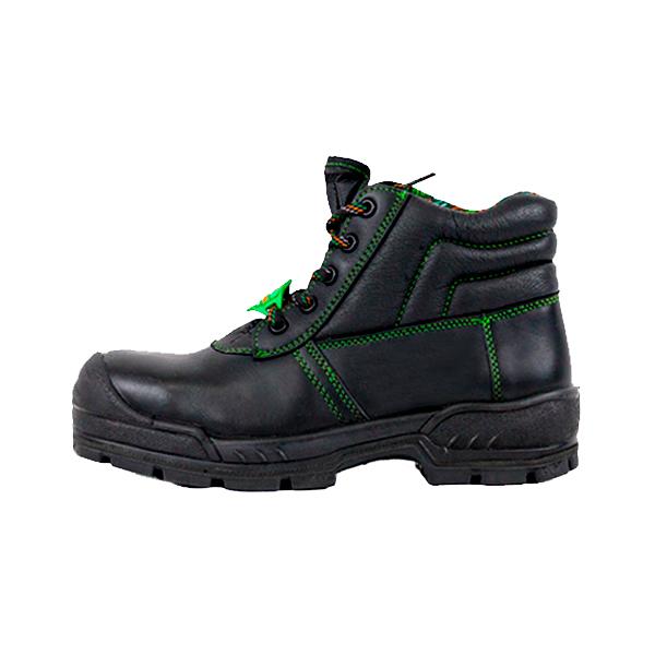 Zapato Borceguí con Casco de Policarbonato Comando Negro 705 PP+D - 1