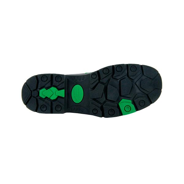 Zapato Borceguí con Casco de Policarbonato Comando Negro 705 PP+D - 2