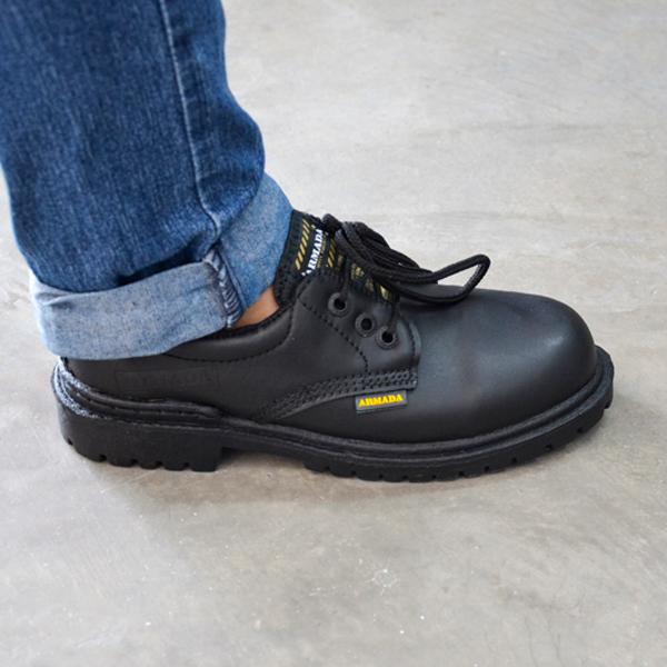 Zapato Choclo con Casco Celastic Armada Negro 102 - 3