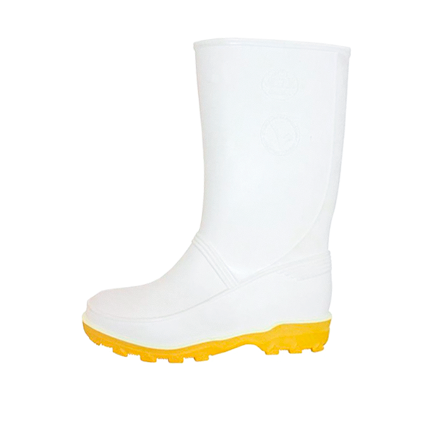 Bota sin Casco para Dama Chibol Bata Industrials Blanco/Amarillo 502-18071 - 1