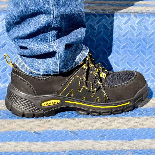 Zapato Tenis con Casco de Policarbonato Dieléctrico X-Port Armada Negro 158 - 3