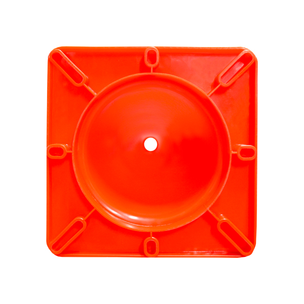 Cono PVC Premium de Seguridad Lamira Naranja ATC-90 90 cm - 1