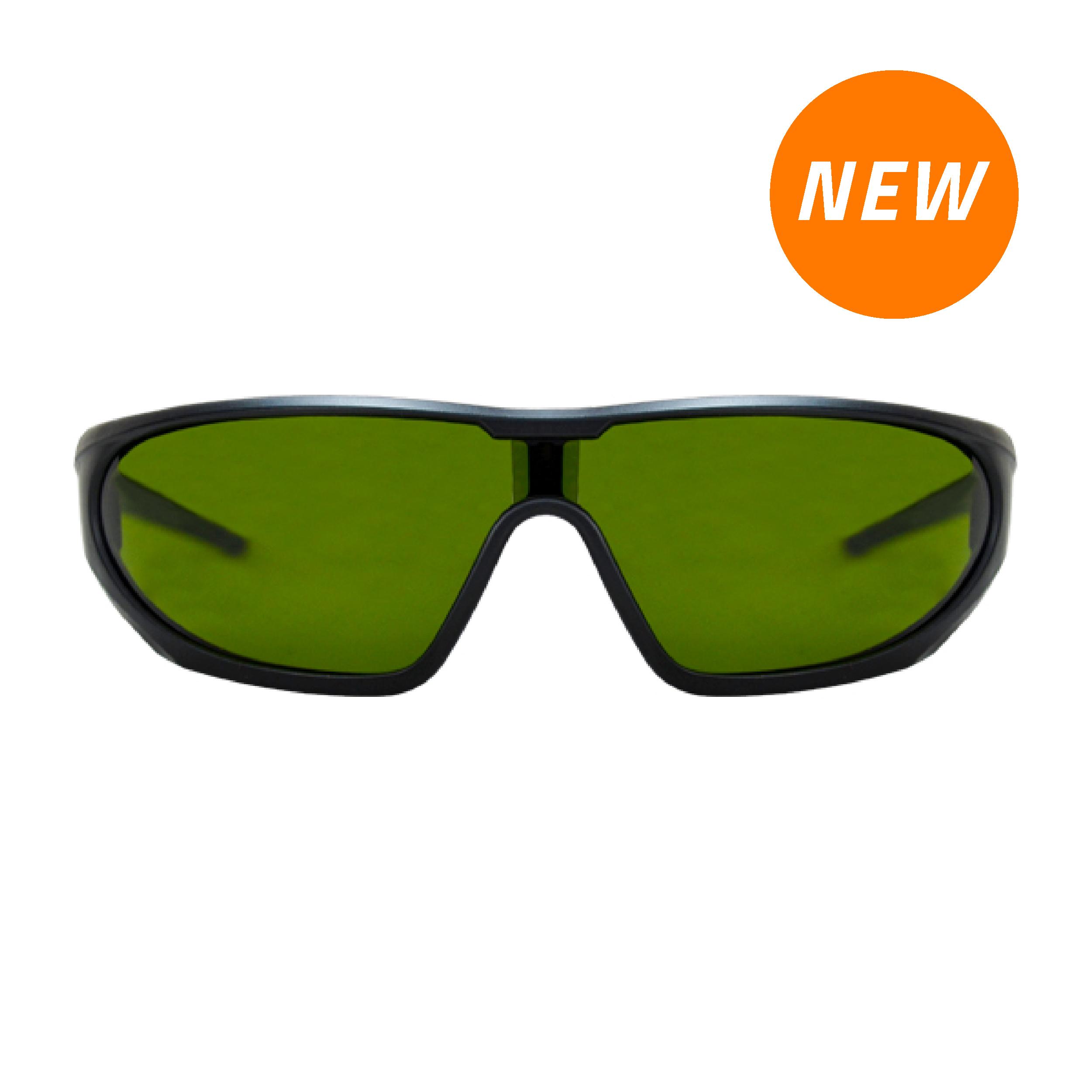 Lente Snakeye Policarbonato Sombra 3.0 Antiempañante con Armazón Negro Lamira Verde 4001-S3 IR3 AF … - 0