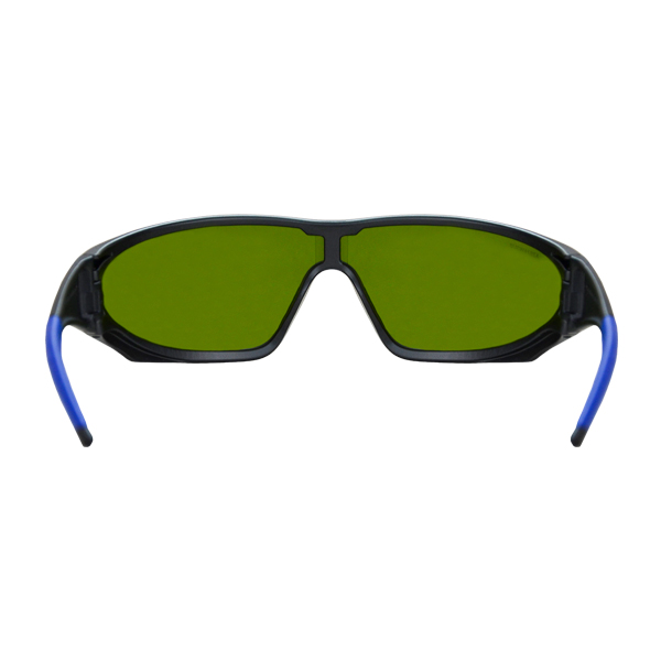 Lente Snakeye Policarbonato Sombra 3.0 Antiempañante con Armazón Negro Lamira Verde 4001-S3 IR3 AF … - 2