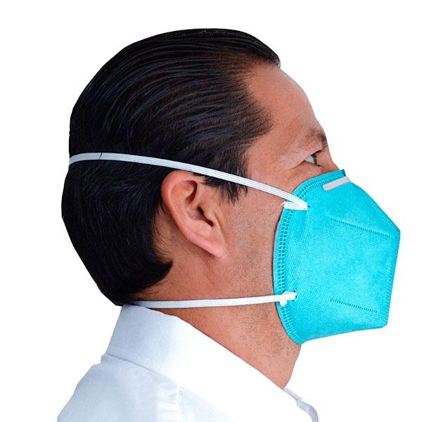 Respirador Desechable para Partículas N95 BYD (Pieza) Verde DE2322 N95 … - 3